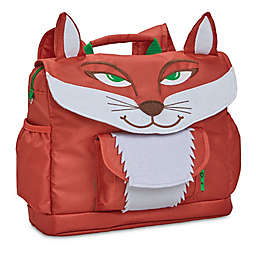 Bixbee Fox Pack Backpack in Red/White
