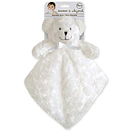 Rosette Nunu Bear Blanket in Ivory