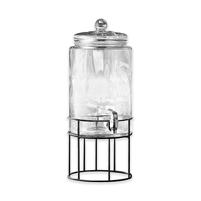 Alternate image 1 for Style Setter Artesia 2-Gallon Beverage Dispenser with Metal Stand