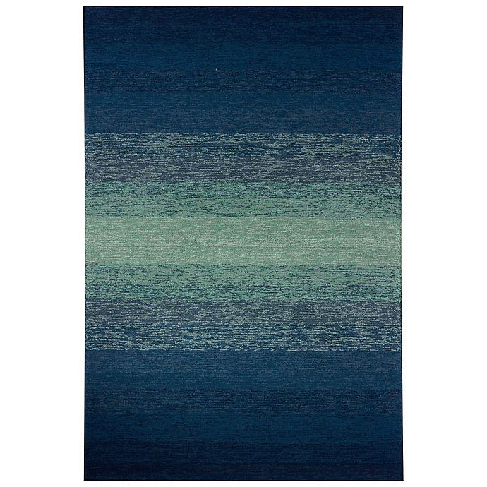 Alternate image 1 for Jaipur Catalina Blaze Abstract 7-Foot 6-Inch x 9-Foot 6-Inch Indoor/Outdoor Accent Rug in Blue