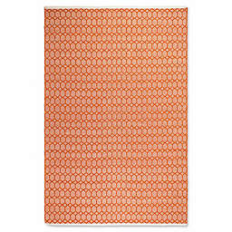 Fab Habitat Estate Rug in Orange