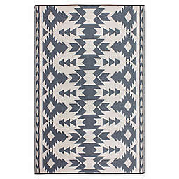 Fab Habitat World Collection Miramar Rug in Grey