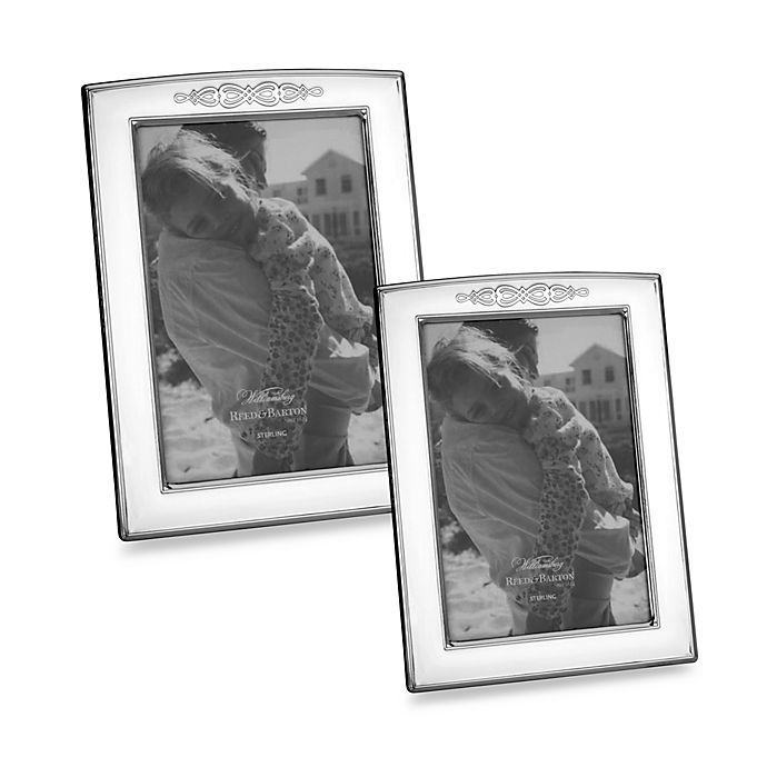 Alternate image 1 for Reed and Barton®  Hennell 5-Inch x 7-Inch Photo Frame in Stainless Steel