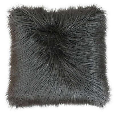 Keller Faux Mongolian 20-Inch Pillow From Thro by Marlo Lorenz