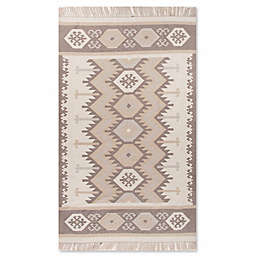 Jaipur Desert Emmett Indoor/Outdoor Rug in Taupe