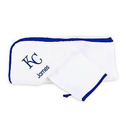 Designs by Chad and Jake MLB Kansas City Royals Personalized Hooded Towel Set