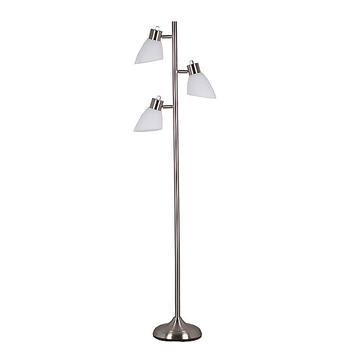 Adesso Brooke 3 Light Floor Lamp With