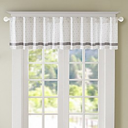 Regency Heights Lizzie Dot Rod Pocket Window Curtain Panel and Valance