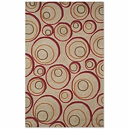 Liora Manne Spello Hoops Indoor/Outdoor Rug