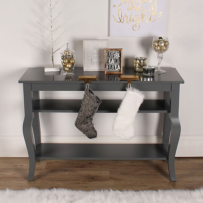 Alternate image 1 for Kate and Laurel Lillian Console Table in Grey