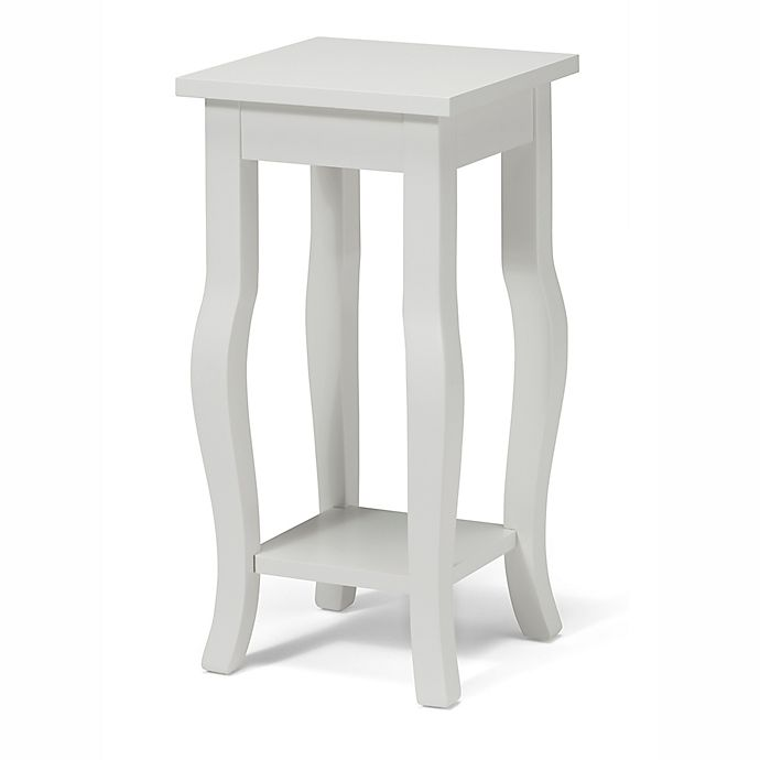 Kate And Laurel Lillian Pedestal End Table Bed Bath Beyond