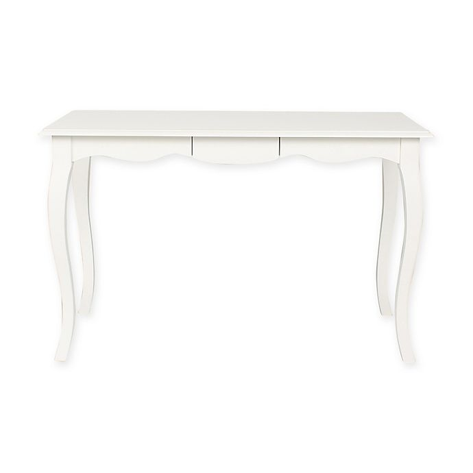 Alternate image 1 for Kate And Laurel Palermo Wood Writing Desk in White