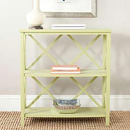 Safavieh Liam Bookcase in Pea Green