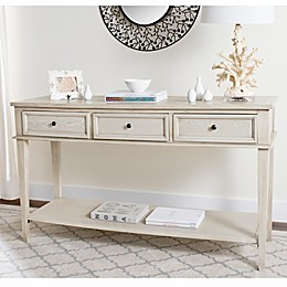Safavieh Manelin Console Table in White