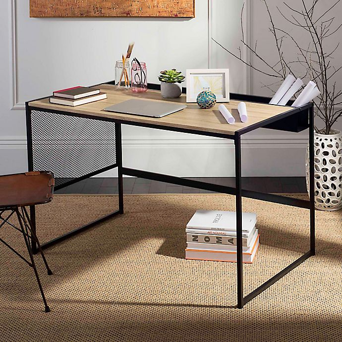 Alternate image 1 for Safavieh Aali Desk in Black