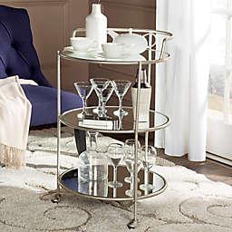Safavieh Dulcinea Bar Cart in Silver