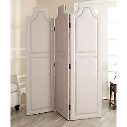 Safavieh Darcy Room Divider Screen in Taupe