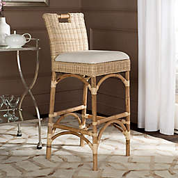 Safavieh Fremont Bar Stool in Natural