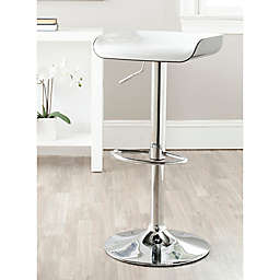 Safavieh Rameka Bar Stool in White/Black