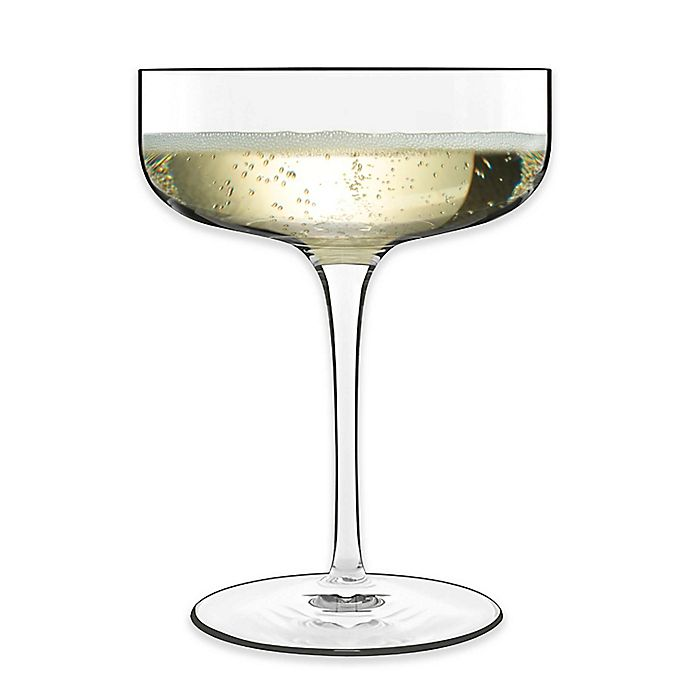 Alternate image 1 for Luigi Bormioli Sublime Coupe Champagne Glasses (Set of 4)