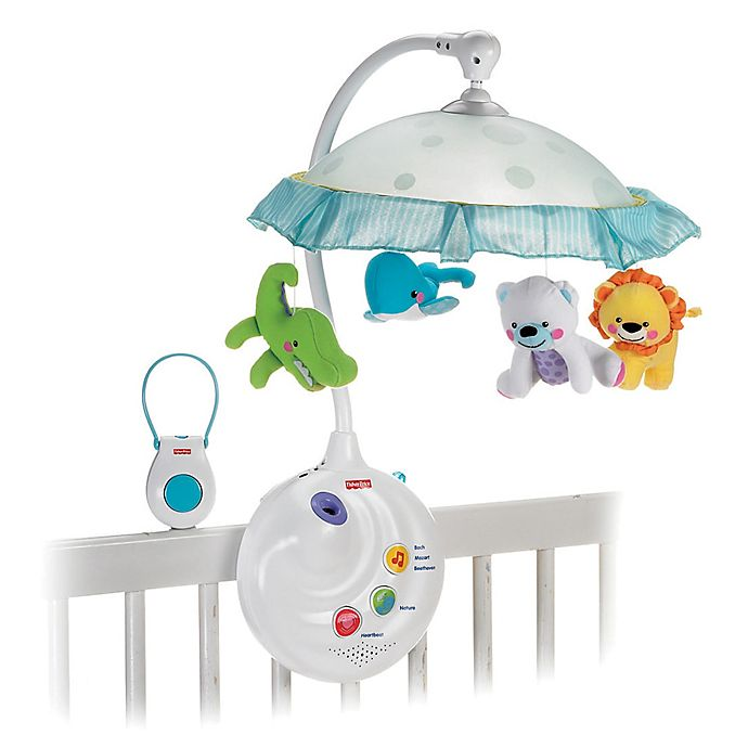 Fisher Price Precious Planet 2 In 1 Projection Mobile Buybuy Baby