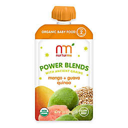 NurturMe Power Blend 3.5 oz. Mango, Guava, Quinoa Puree