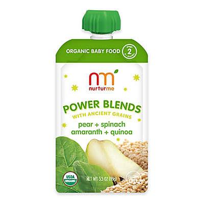 NurturMe Power Blend 3.5 oz. Pear, Quinoa, and Amaranth Puree