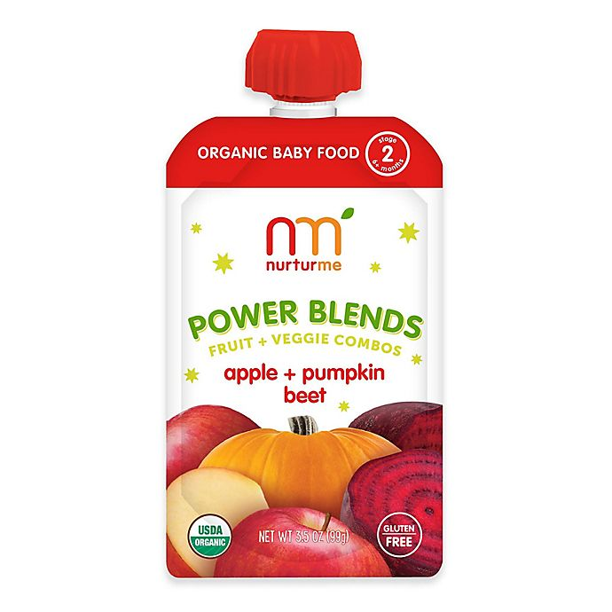 Alternate image 1 for NurturMe Power Blend 3.5 oz. Apple, Pumpkin, and Beet Puree