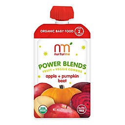 NurturMe Power Blend 3.5 oz. Apple, Pumpkin, and Beet Puree