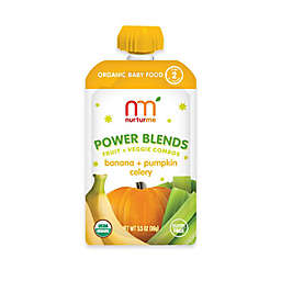 NurturMe Power Blend 3.5 oz. Banana, Pumpkin, and Celery Puree