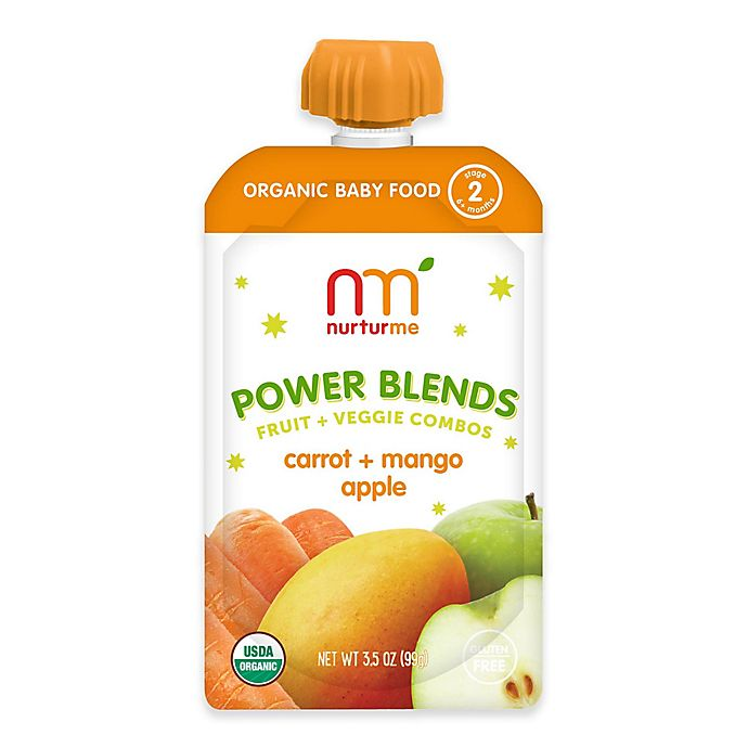 Alternate image 1 for NurturMe Power Blend 3.5 oz. Carrot, Mango, and Apple Puree