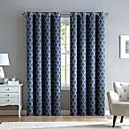 Marrakesh 84-Inch Grommet Top Window Curtain Panel in Navy