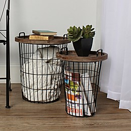 Kate and Laurel Tenby 2-Piece Accent Table Set