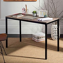 Safavieh Janison Desk in Grey/Black