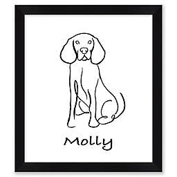 Beagle Framed Wall Art
