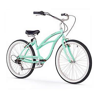 """Firmstrong Urban Lady 26"""" Seven Speed Beach Cruiser Bicycle"""