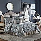 Croscill® Gabrijel Queen Comforter Set in Slate Blue