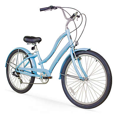 "Firmstrong Women's CA-520 26"" Seven Speed Beach Cruiser Bicycle"