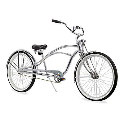 """Firmstrong Urban Man Deluxe 26"""" Single Speed Stretch Beach Cruiser Bicycle"""
