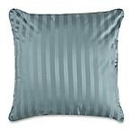 Wamsutta® 500-Thread-Count PimaCott® Damask Stripe European Throw Pillow in Aqua