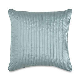 Wamsutta® 500-Thread-Count PimaCott® Damask Stripe Square Throw Pillow in Aqua