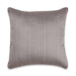 Wamsutta® 500-Thread-Count PimaCott® Damask Stripe Square Throw Pillow in Grey