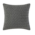 Brooklyn Loom Jackson Pleat Square Throw Pillow in Grey