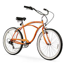 "Firmstrong Urban Man 26"" Seven Speed Beach Cruiser Bicycle"