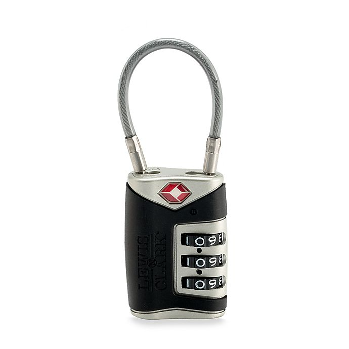 0bb5c5a96219 Lewis N' Clark® Cable Lock | Bed Bath & Beyond