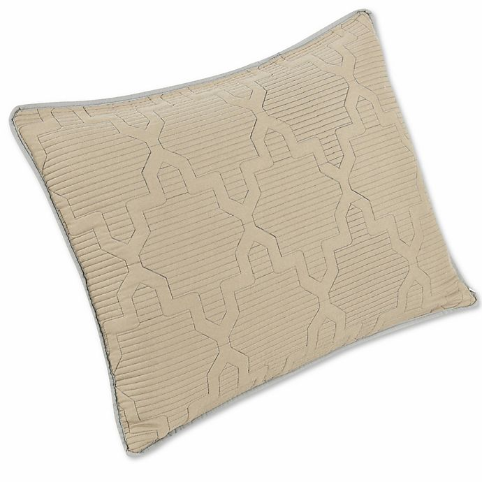 Alternate image 1 for Brielle Casablanca Reversible Pillow Shams (Set of 2)