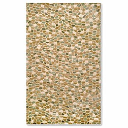 Liora Manne Spello Pebbles Indoor/Outdoor Rug in Blue