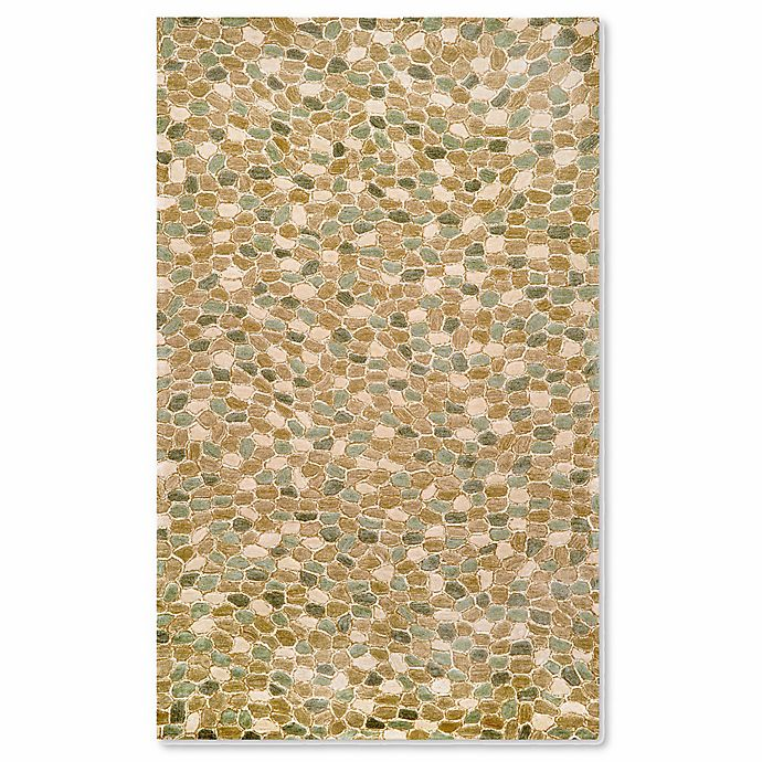 Alternate image 1 for Liora Manne Spello Pebbles Indoor/Outdoor Rug in Blue
