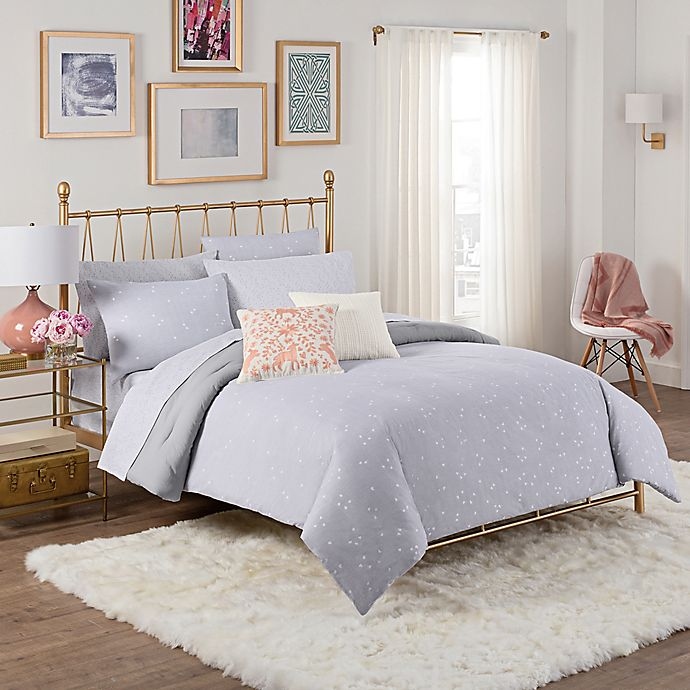 aeb45fa00f Cupcakes and Cashmere Scattered Hearts Comforter Set | Bed Bath & Beyond