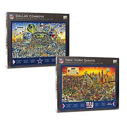 NFL 500-Piece Find Joe Journeyman Puzzle Collection